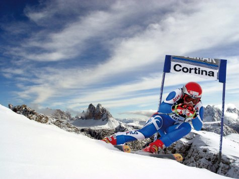 Cortina Promises a Green World Championships PIC CREDIT Paola Dandrea