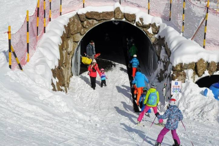 New Lift Through Swiss Tunnel is 100